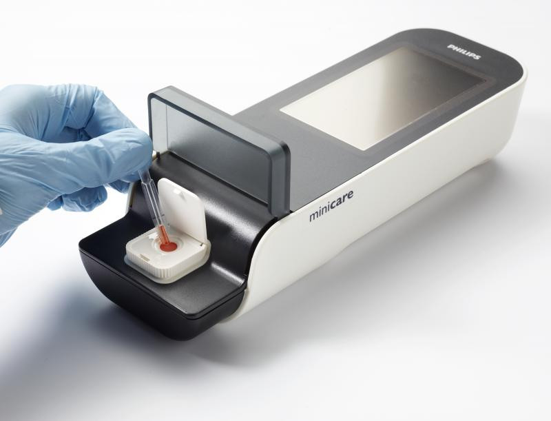 Philips Launches Handheld Blood Test For Rapid Point Of
